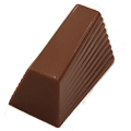 Melkchocolade praline met kokos vulling