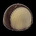 Praline met praliné van pure chocolade