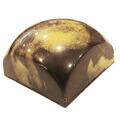 Pure chocolade met sesam vulling