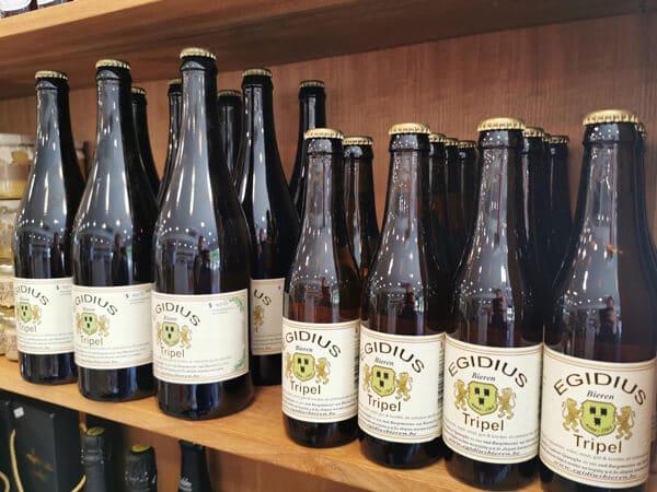 Egidius tripel - ambachtelijk biertje uit Denderbelle
