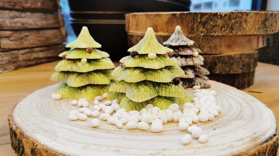 eindejaar 2019 kerstboom in chocolade