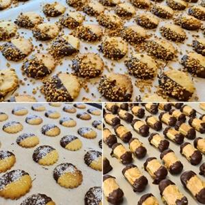 ambachtelijke koekjes - bresilienne, kokos, bokkenpootjes