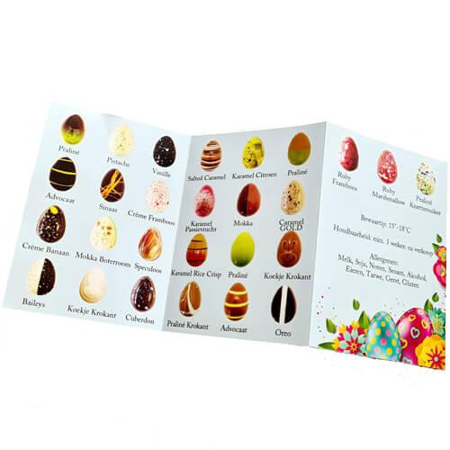 kleine paaseitjes - chocolade
